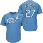 Cheap Royals #27 Raul Mondesi Light Blue Cool Base Stitched Youth MLB Jersey