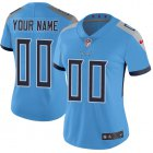 Cheap Nike Tennessee Titans Customized Light Blue Team Color Stitched Vapor Untouchable Limited Women's NFL Jersey