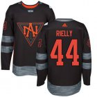 Cheap Team North America #44 Morgan Rielly Black 2016 World Cup Stitched NHL Jersey