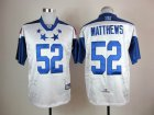 Cheap Packers #52 Clay Matthews White 2012 Pro Bowl Stitched NFL Jersey