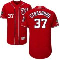 Cheap Nationals #37 Stephen Strasburg Red Flexbase Authentic Collection 2019 World Series Champions Stitched MLB Jersey
