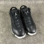 Cheap Womens Air Jordan 6 Rings Shoes Black/white