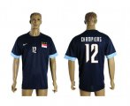 Cheap Singapore #12 Champions Blue Soccer Country Jersey