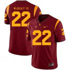 Cheap USC Trojans 22 Leon McQuay III Red College Football Jersey
