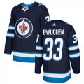 Cheap Adidas Jets #33 Dustin Byfuglien Navy Blue Home Authentic Stitched Youth NHL Jersey
