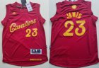 Cheap Youth Cleveland Cavaliers #23 LeBron James adidas Burgundy Red 2016 Christmas Day Stitched NBA Swingman Jersey