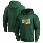 Cheap Green Bay Packers NFL 2019 NFL Playoffs Bound Hometown Checkdown Pullover Hoodie Green