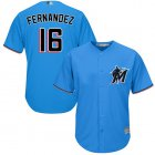 Cheap Marlins #16 Jose Fernandez Blue Cool Base Stitched Youth MLB Jersey