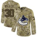 Cheap Adidas Canucks #30 Ryan Miller Camo Authentic Stitched NHL Jersey
