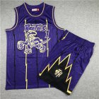 Cheap Raptors 1 Tracy McGrady Purple 1998-99 Hardwood Classics Jersey(With Shorts)