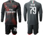 Cheap AC Milan #79 Hessie Third Long Sleeves Soccer Club Jersey