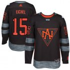Cheap Team North America #15 Jack Eichel Black 2016 World Cup Stitched NHL Jersey