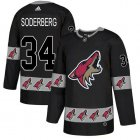 Cheap Adidas Coyotes #34 Carl Soderberg Black Authentic Team Logo Fashion Stitched NHL Jersey