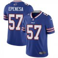 Cheap Nike Bills #57 A.J. Epenesas Royal Blue Team Color Men's Stitched NFL Vapor Untouchable Limited Jersey