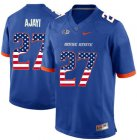 Cheap Boise State Broncos 27 Jay Ajayi Blue USA Flag College Football Jersey