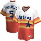 Cheap Houston Astros #5 Jeff Bagwell Nike Home Cooperstown Collection Player MLB Jersey White