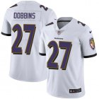 Cheap Nike Ravens #27 J.K. Dobbins White Youth Stitched NFL Vapor Untouchable Limited Jersey