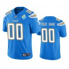 Cheap Los Angeles Chargers Custom Light Blue 60th Anniversary Vapor Limited NFL Jersey