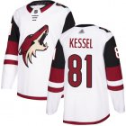 Cheap Adidas Coyotes #81 Phil Kessel White Road Authentic Stitched NHL Jersey