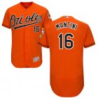 Cheap Orioles #16 Trey Mancini Orange Flexbase Authentic Collection Stitched MLB Jersey