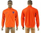 Cheap Holland Soccer Jackets Orange