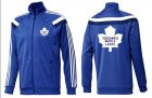 Cheap NHL Toronto Maple Leafs Zip Jackets Blue-5
