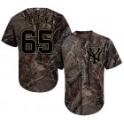 Cheap Yankees #65 James Paxton Camo Realtree Collection Cool Base Stitched Youth MLB Jersey