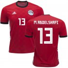 Cheap Egypt #13 M.Abdelshafi Red Home Soccer Country Jersey
