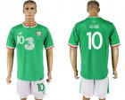 Cheap Ireland #10 Keane Home Soccer Country Jersey