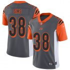 Cheap Nike Bengals #38 LeShaun Sims Silver Youth Stitched NFL Limited Inverted Legend Jersey
