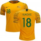 Cheap Australia #18 Vukovic Home Soccer Country Jersey