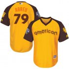 Cheap White Sox #79 Jose Abreu Gold 2016 All-Star American League Stitched Youth MLB Jersey