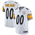 Cheap Nike Pittsburgh Steelers Customized White Stitched Vapor Untouchable Limited Youth NFL Jersey