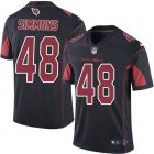 Cheap Nike Cardinals #48 Isaiah Simmons Black Youth Stitched NFL Limited Rush Jersey