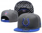Cheap Colts Team Logo Gray Blue Adjustable Hat TX