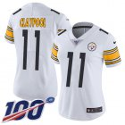 Cheap Nike Steelers #11 Chase Claypool White Women's Stitched NFL 100th Season Vapor Untouchable Limited Jersey
