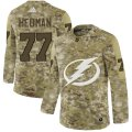 Cheap Adidas Lightning #77 Victor Hedman Camo Authentic Stitched NHL Jersey