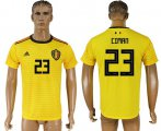 Cheap Belgium #23 Ciman Away Soccer Country Jersey