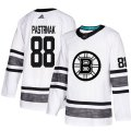Cheap Adidas Bruins #88 David Pastrnak White Authentic 2019 All-Star Youth Stitched NHL Jersey