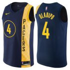 Cheap Nike Indiana Pacers #4 Victor Oladipo Navy Blue NBA Swingman City Edition Jersey