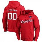 Cheap Washington Nationals Majestic 2019 World Series Champions Custom Pullover Hoodie Red