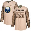 Cheap Adidas Sabres #55 Rasmus Ristolainen Camo Authentic 2017 Veterans Day Youth Stitched NHL Jersey