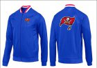 Cheap NFL Tampa Bay Buccaneers Team Logo Jacket Blue_1