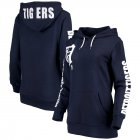 Cheap Detroit Tigers G-III 4Her by Carl Banks Women's 12th Inning Pullover Hoodie Navy