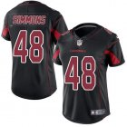 Cheap Nike Cardinals #48 Isaiah Simmons Black Women's Stitched NFL Limited Rush Jersey