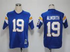 Cheap Mitchell And Ness 1984 Chargers #19 Lance Alworth Light Blue Stitched NFL Jersey