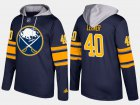 Cheap Sabres #40 Robin Lehner Blue Name And Number Hoodie