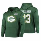 Cheap Green Bay Packers #23 Jaire Alexander Nike NFL 100 Primary Logo Circuit Name & Number Pullover Hoodie Green