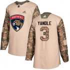 Cheap Adidas Panthers #3 Keith Yandle Camo Authentic 2017 Veterans Day Stitched Youth NHL Jersey