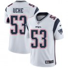 Cheap Nike Patriots #53 Josh Uche White Youth Stitched NFL Vapor Untouchable Limited Jersey